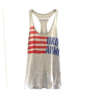 Women's Under Armour USA racerback tank